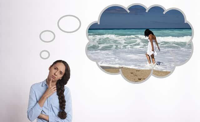 Myślenie o wakacjach skutecznym sposobem na stres